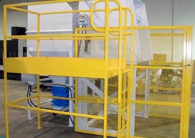 HD-48 Dumper, Dumper Stand, Surge Bin with RAL & Work Platform